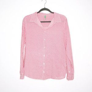 United Colors of Benetton | Pink Career Blouse L